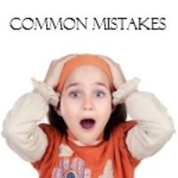 Errori comuni