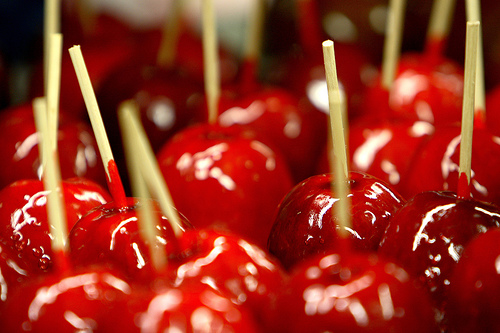 recipe candy apples ricetta mele candite