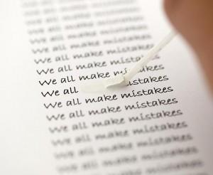 errori comuni inglese