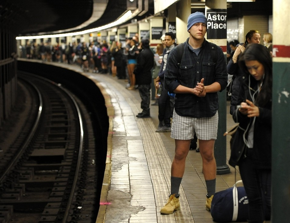 No Pants Subway Ride 2012: un evento davvero particolare