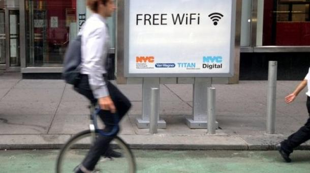 New York, wifi gratis alle cabine telefoniche